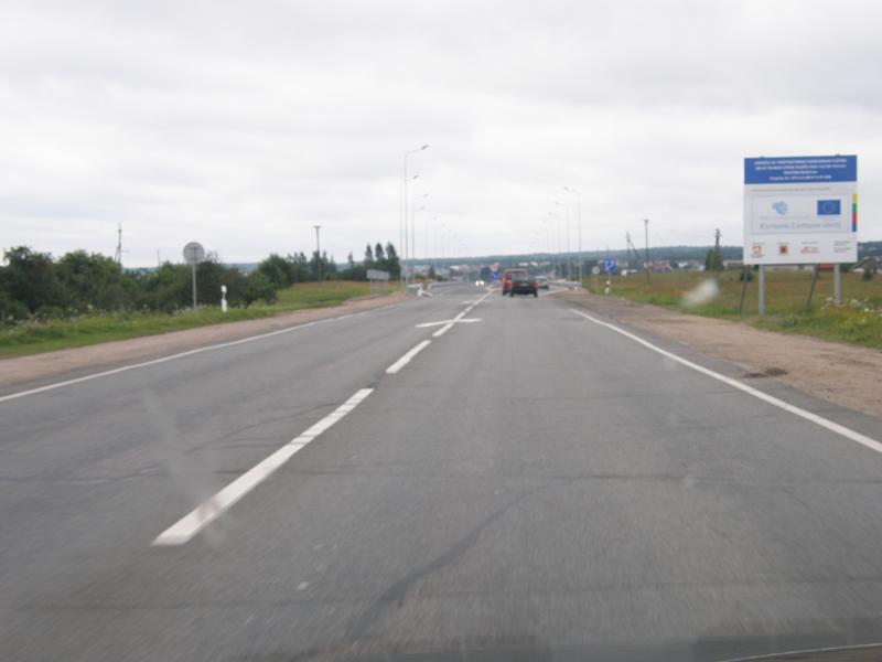 Link to A14 kelio ruožas su keturiomis eismo juostomis